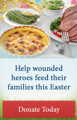 Help feed hungry military families this Easter - Donate today